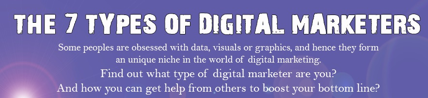 7 Types of Digital Marketers feature image
